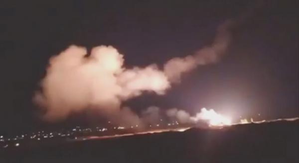 Израиль әуе күштері Дамаскіні атқылады, Израиль әуе күштері, Дамаск, атыс