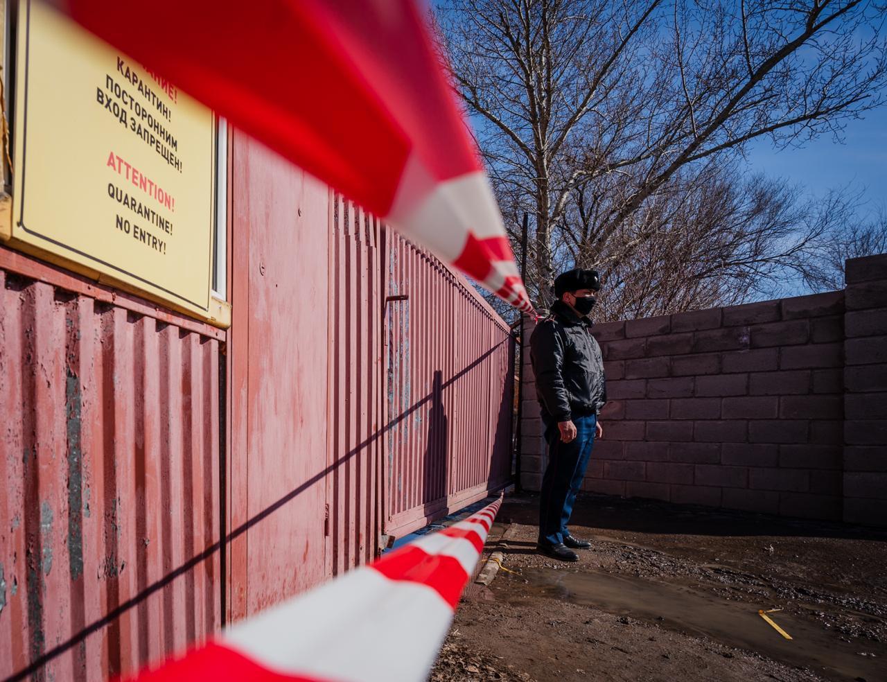 В столице Казахстана изолированы 15 очагов коронавируса