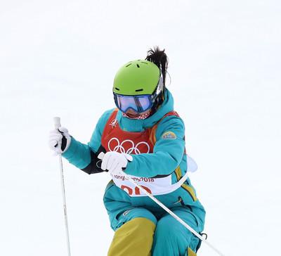 Аяулым Амренова показала 12-й результат на чемпионате мира по фристайл-могулу