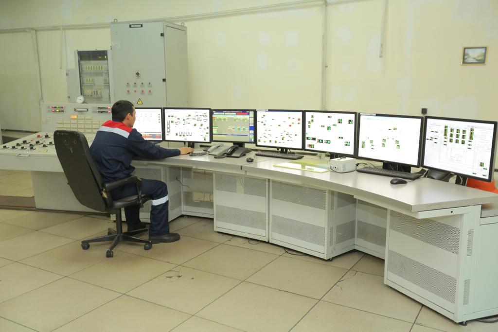 Аким столицы посетил ТЭЦ-2 и проверил уличное освещение