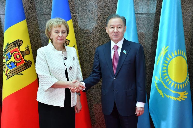 Зинаида Гречаный подтвердила готовность Молдовы к развитию межпарламентского диалога с РК