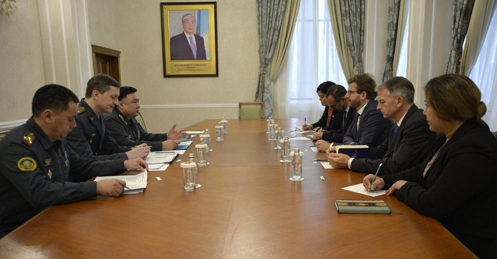 МО РК и МККК договариваются об обучении военных нормам международного гуманитарного права