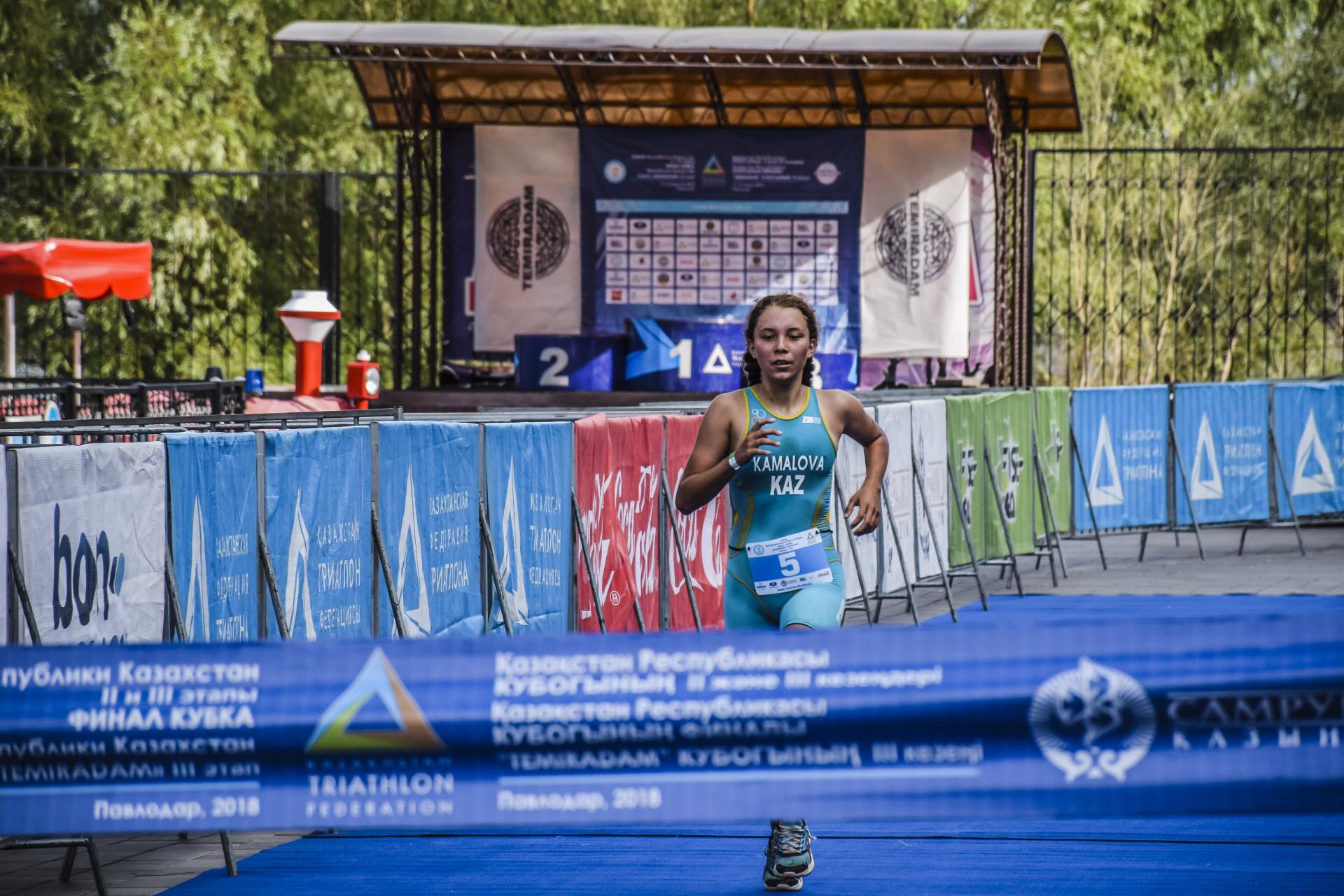 Казахстанка победила на Кубке Африки по триатлону