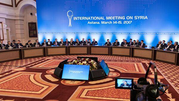 Казахстан ожидает от России, Турции и Ирана подтверждения даты переговоров по Сирии