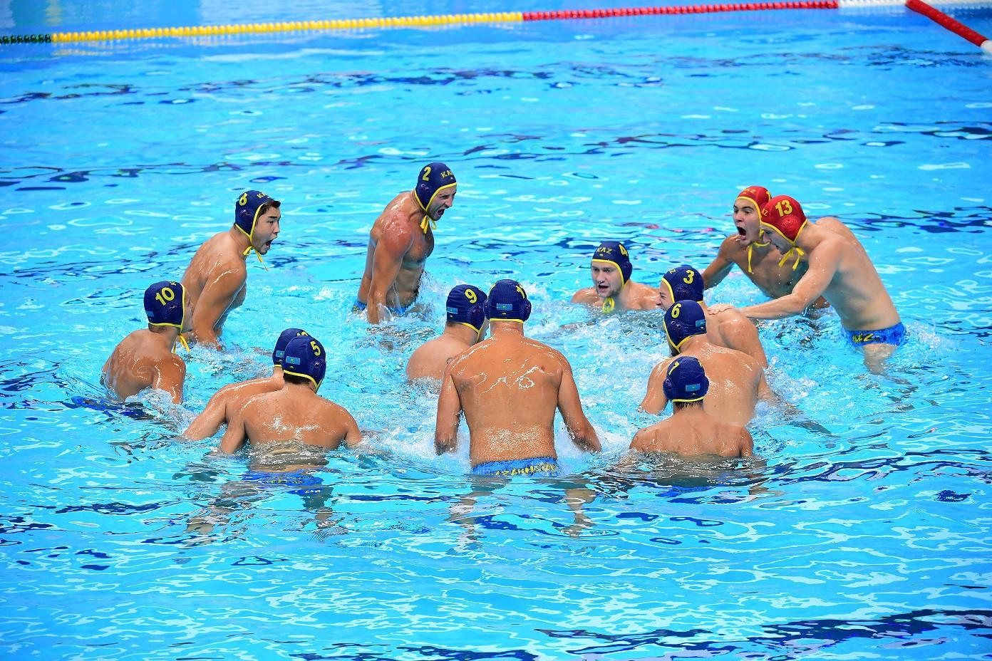 Мужская команда Казахстана по водному поло вышла в 1/4 финала Мировой лиги