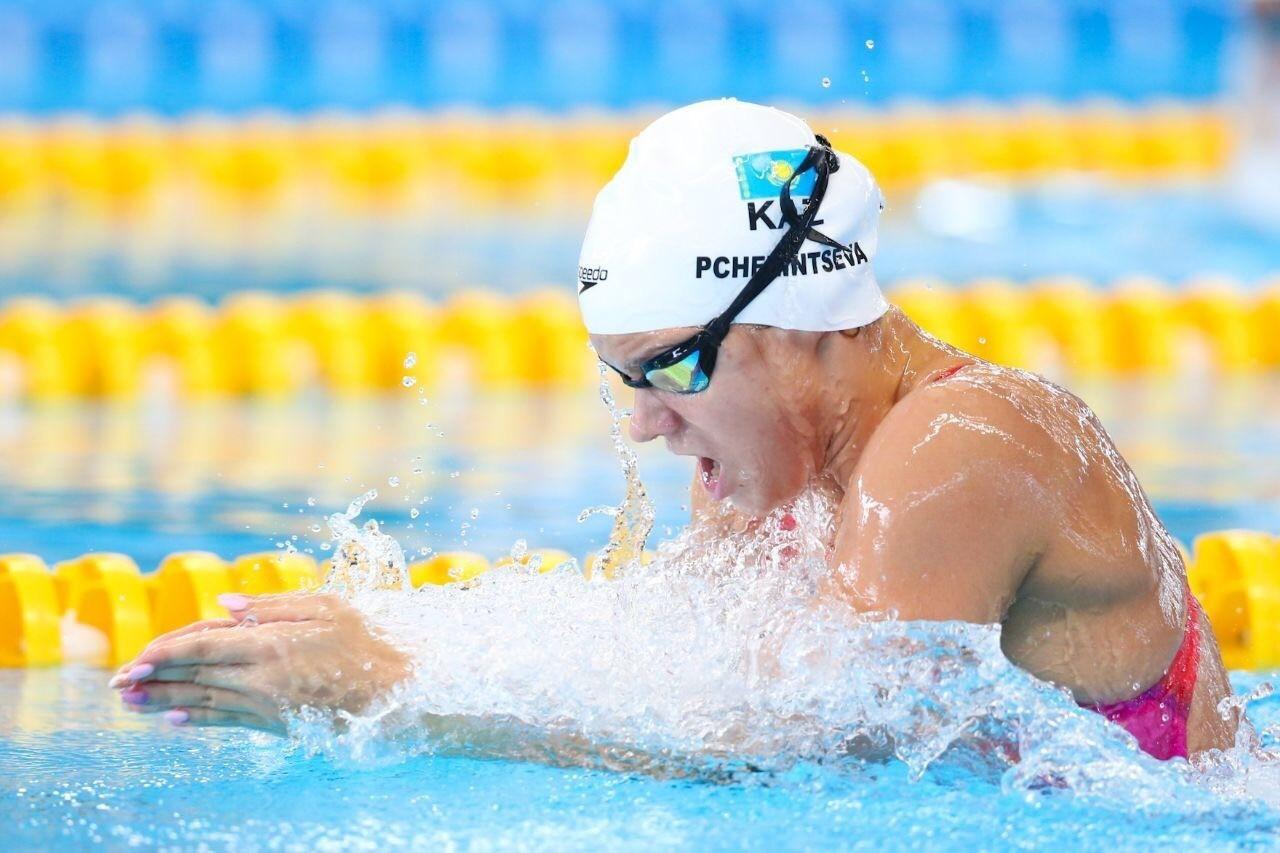 Аделаида Пчелинцева обновила рекорд Казахстана в плавании