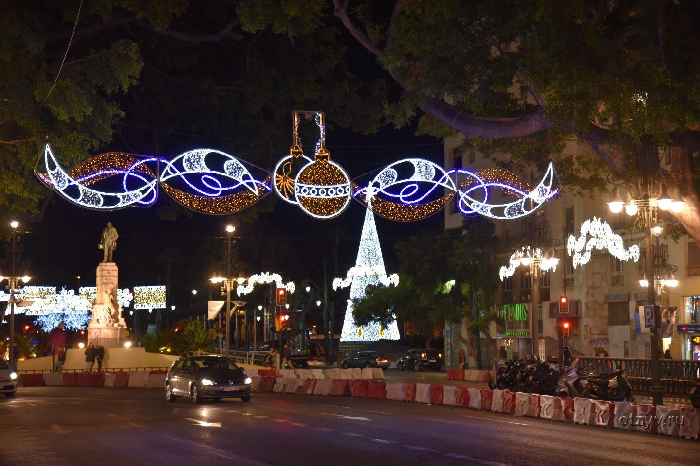 Алматы начали украшать к Новому году