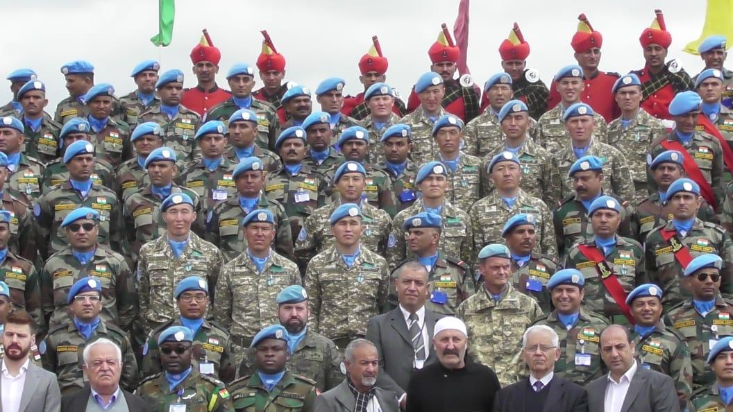 120 казахстанских военнослужащих миротворческой роты в Ливане награждены медалями