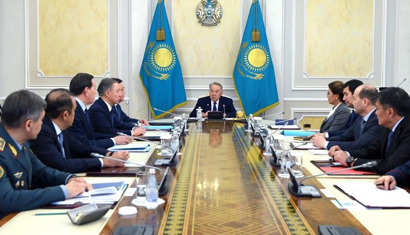 Нурсултан Назарбаев подчеркнул важность вопросов обеспечения информационной безопасности