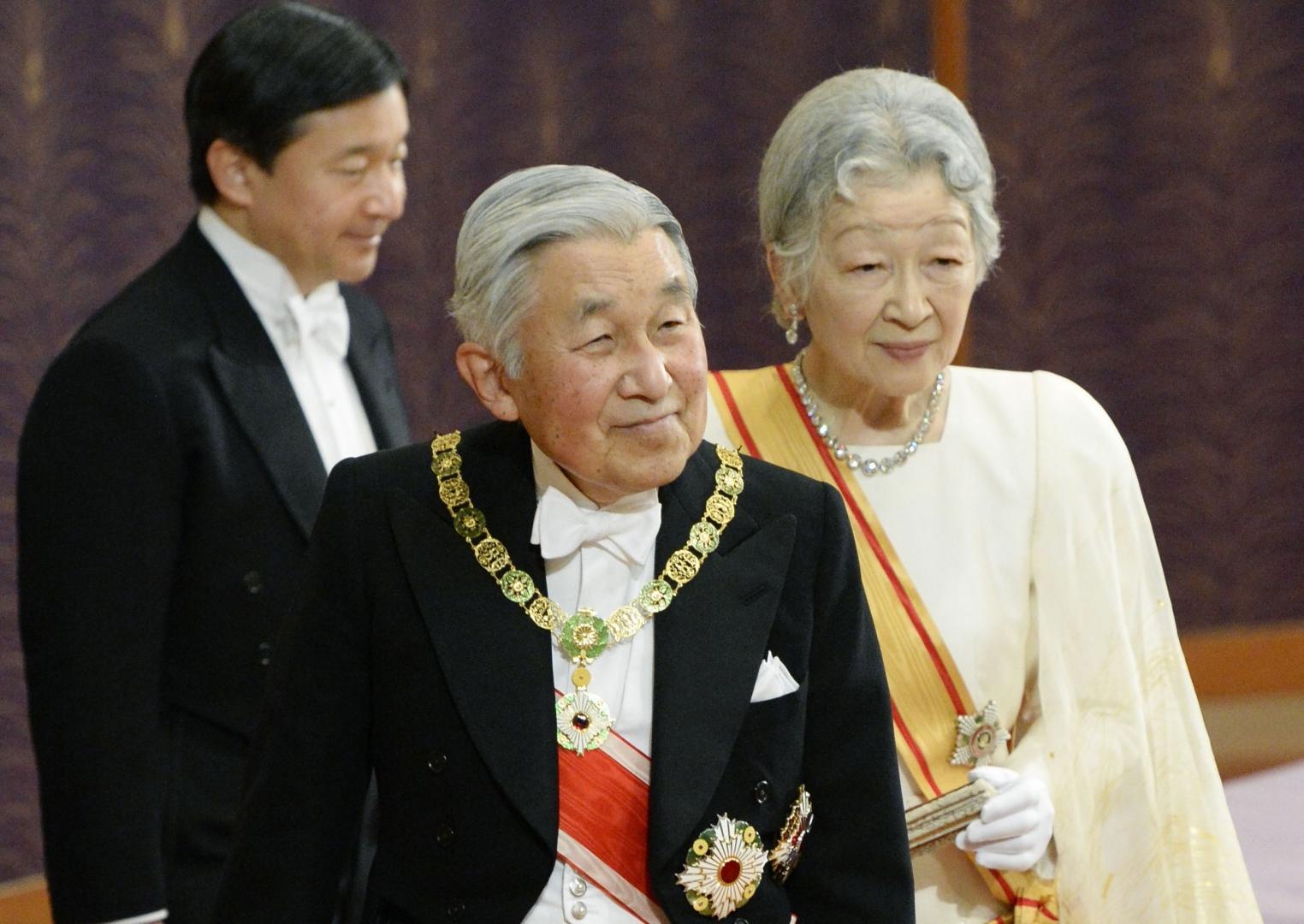 В Токио усилены меры безопасности в преддверии отречения императора от престола