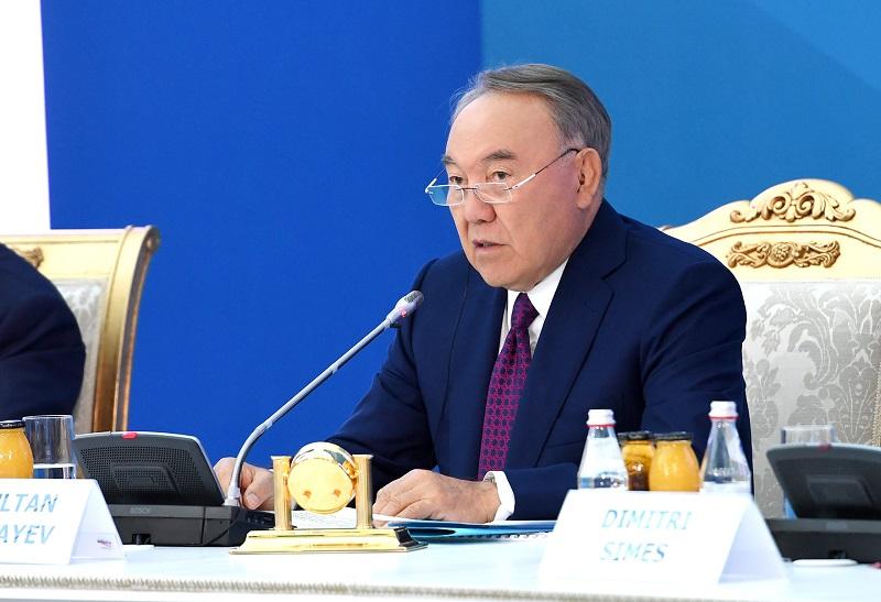 Нурсултан Назарбаев – о транзите власти в РК: «Это не такой уникальный случай»