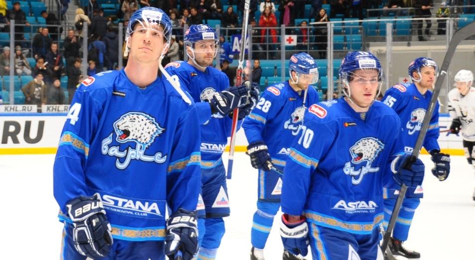 Регулярка КХЛ: «Барыс» обжёгся на аутсайдере