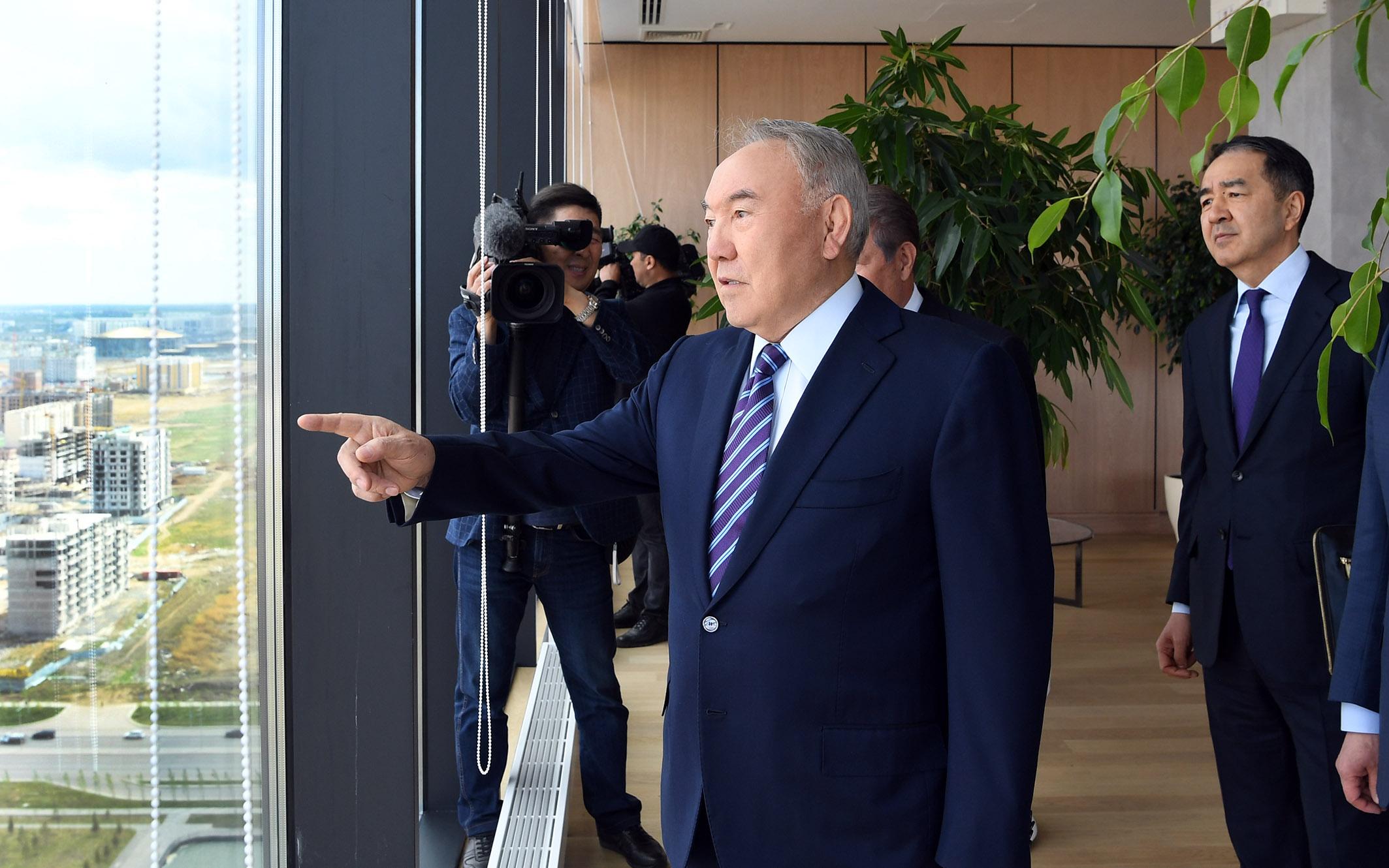 Нурсултан Назарбаев отметил, что деятельность «Самрук-Казына» будет находиться на его личном контроле, Нурсултан Назарбаев, Самрук-Казына, контроль