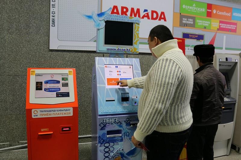 Кредитоматы появились в России по примеру Казахстана