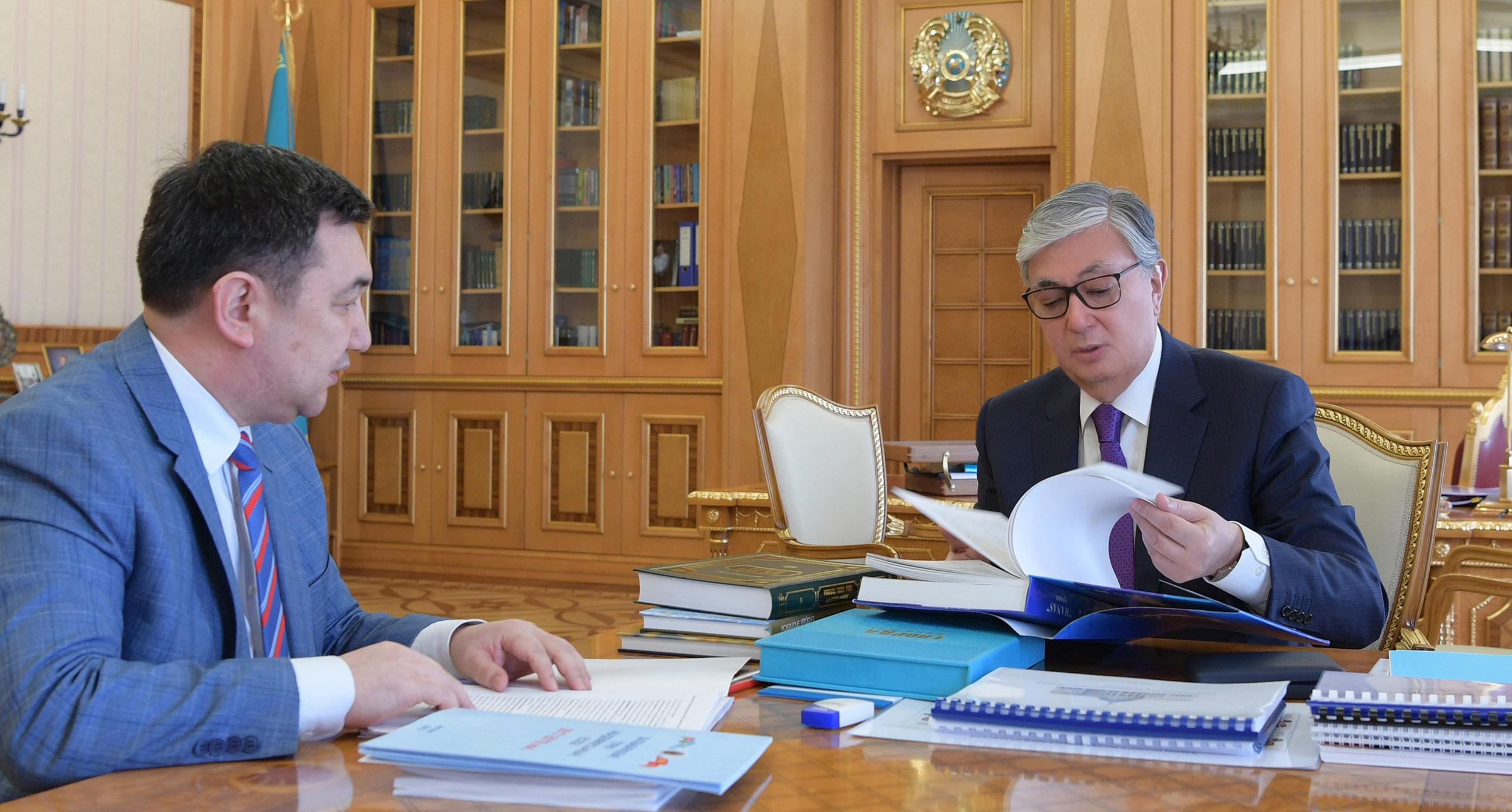 Дархан Кыдырали рассказал Касым-Жомарту Токаеву о ходе подготовки к международному форуму под эгидой ЮНЕСКО