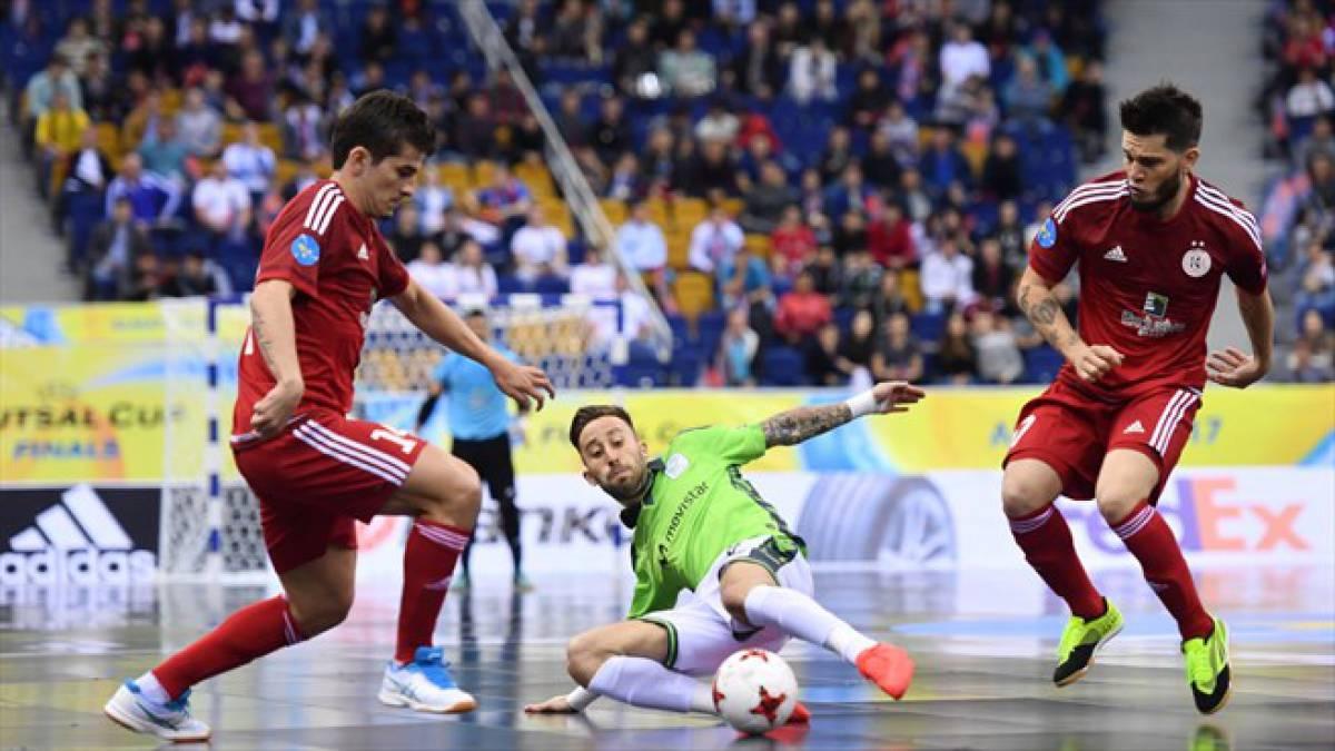 ЛЧ по футзалу: в элитном раунде Казахстан представит только «Кайрат»