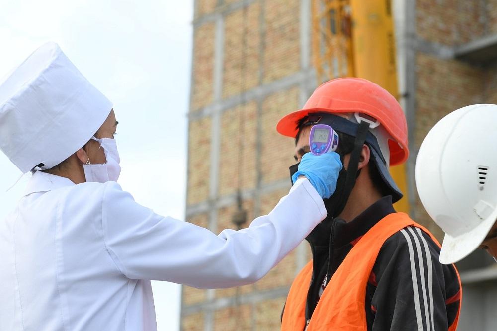 Строительные работы в Туркестанской области не будут остановлены