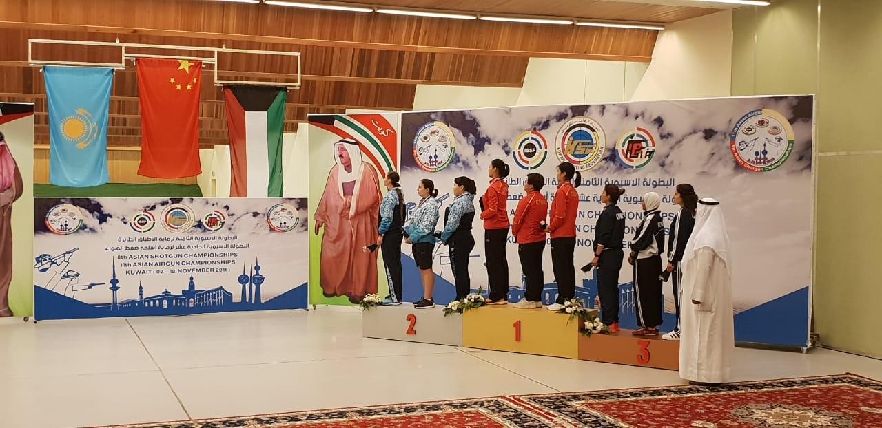 Две медали «взяли» казахстанцы на Чемпионате Азии по стрельбе