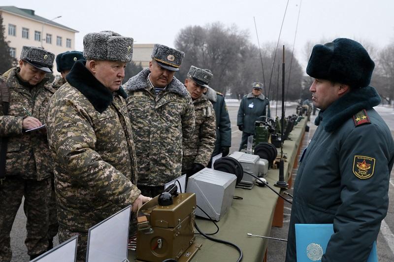 Комиссия Министерства обороны проверила состояние военной инфраструктуры Алматинского гарнизона