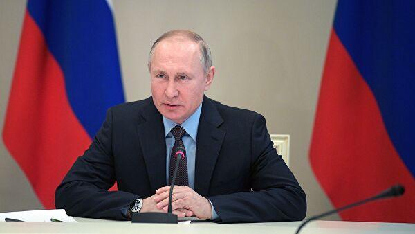 Путин назначил общероссийское голосование на 22 апреля