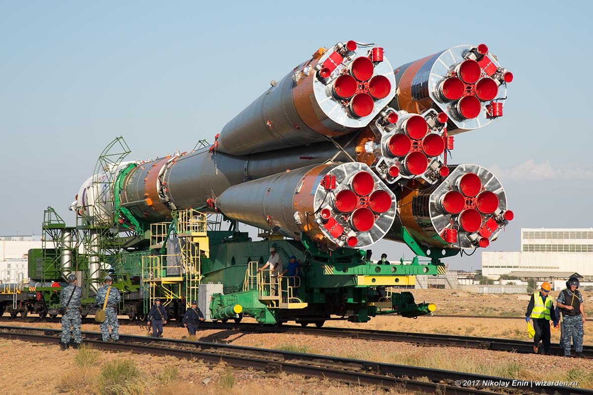 Очередной международный экипаж отправится на МКС сегодня с Байконура