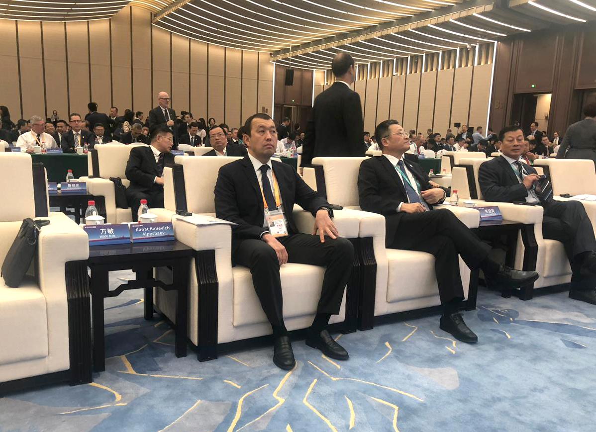 """""""КТЖ"""" ожидает развития контейнерных перевозок по маршруту Китай – Европа – Китай через территорию Казахстана"""