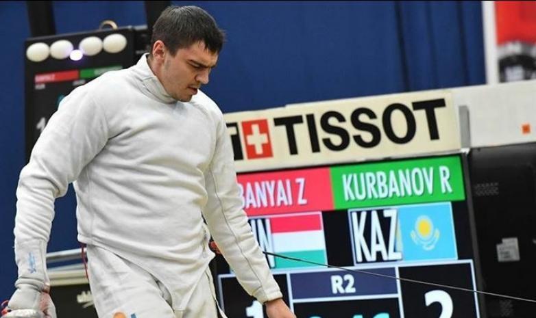 Руслан Курбанов взял бронзу чемпионата Азии по фехтованию