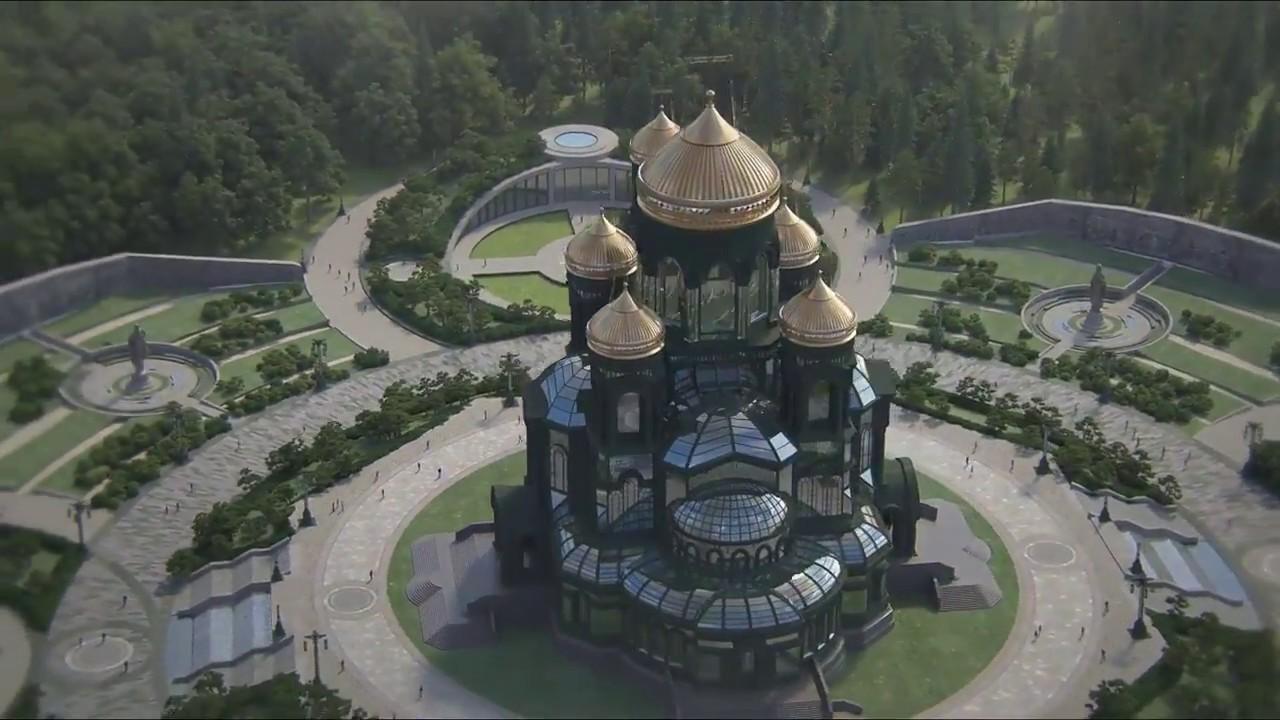 Минобороны РК пожертвовало средства на строительство главного храма вооруженных сил РФ