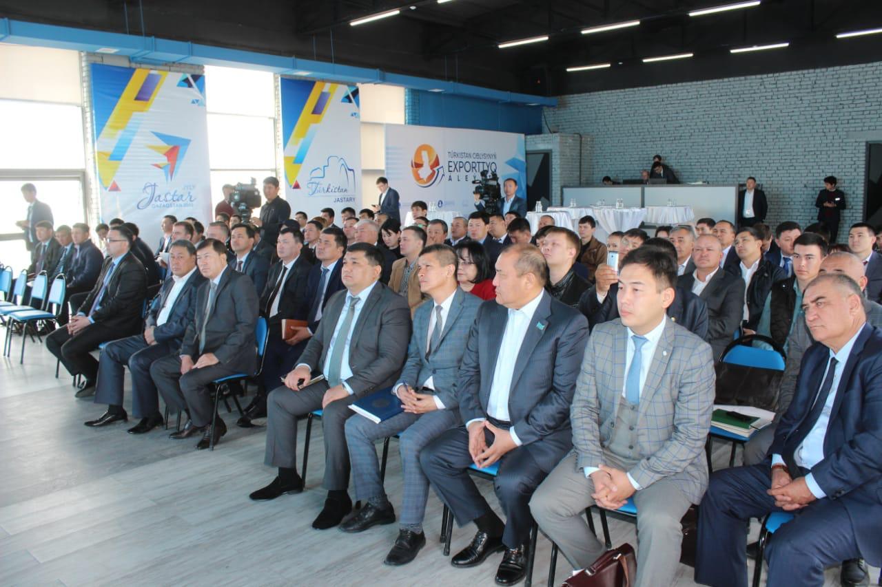 Предприятия Туркестанской области экспортировали товары почти на $345 тысяч