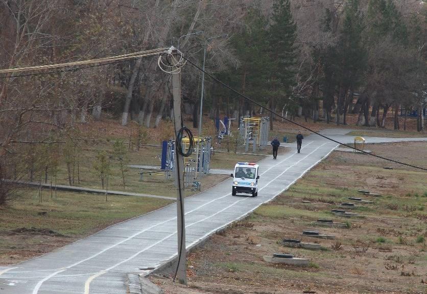 Павлодарскую набережную будут патрулировать полицейские на электромобилях
