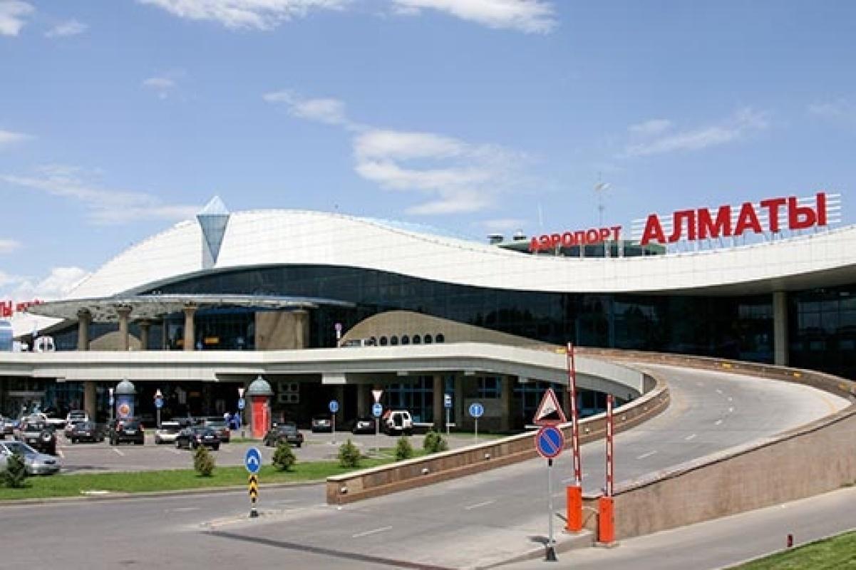 Аэропорт Алматы усилил досмотр пассажиров