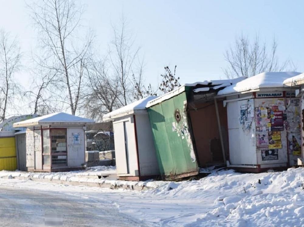 104 незаконных киоска демонтировали в Усть-Каменогорске