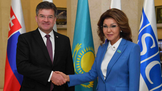 Дарига Назарбаева поздравила Словакию с началом председательства в ОБСЕ