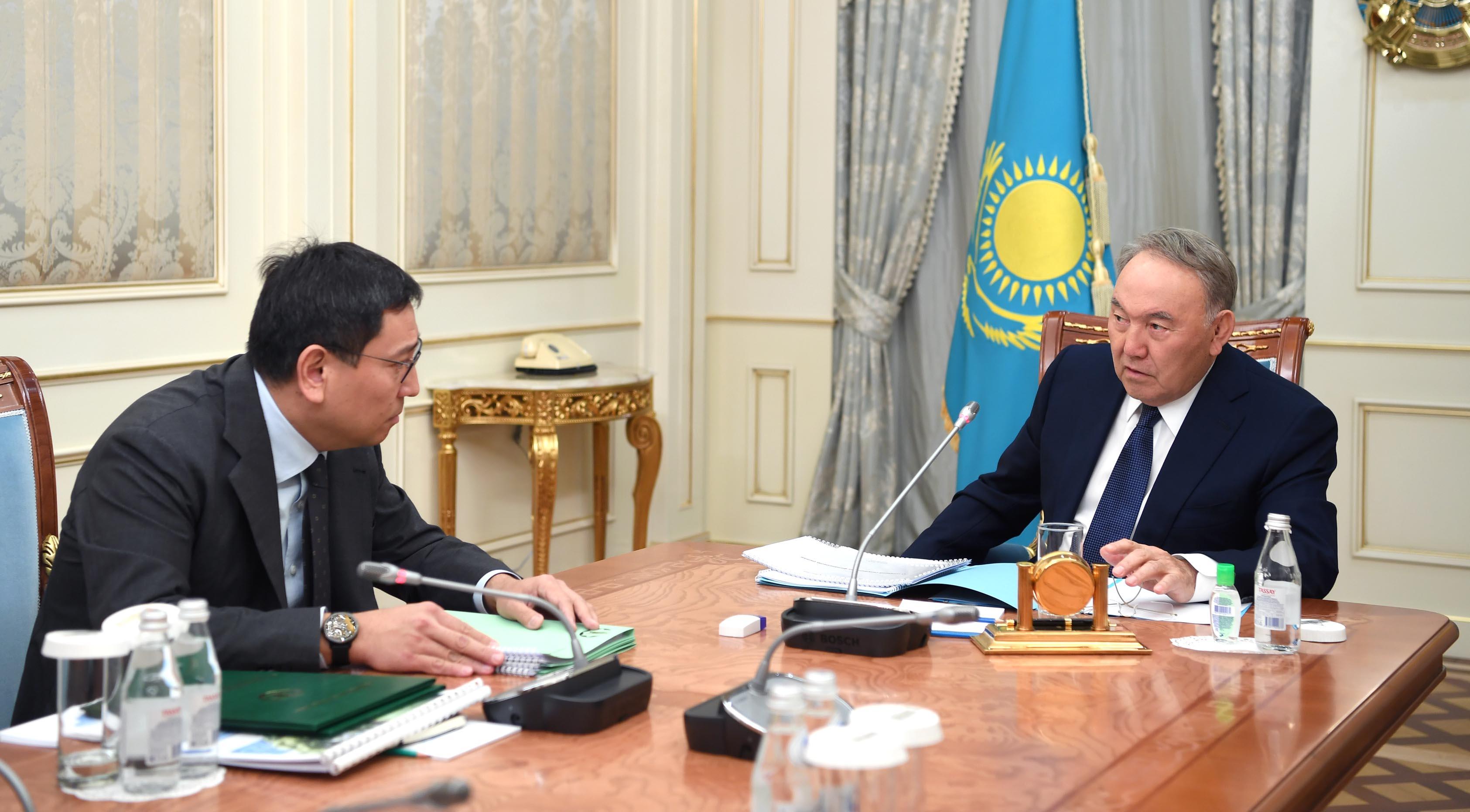 Экономическая ситуация в стране и курс тенге – стабильные – Нурсултан Назарбаев