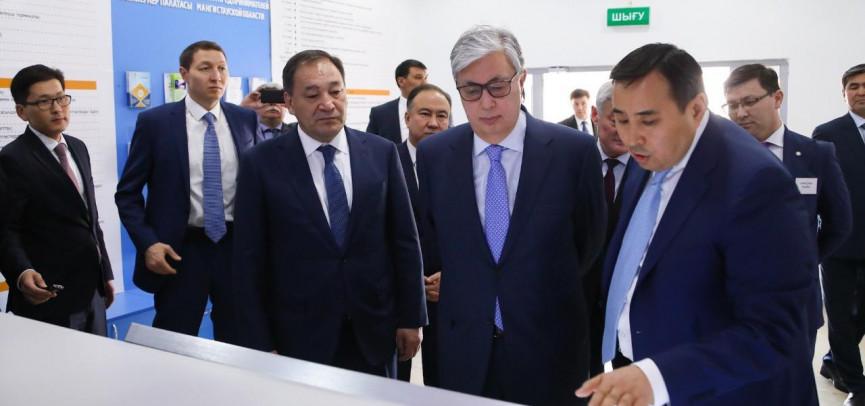 Касым-Жомарт Токаев посетил региональную Палату предпринимателей «Атамекен»