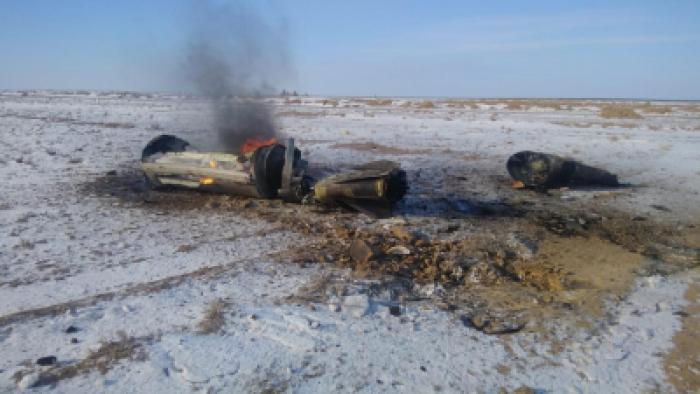 """Упавшие в Казахстане обломки принадлежат геофизической ракете, а не """"Искандеру-М"""""""