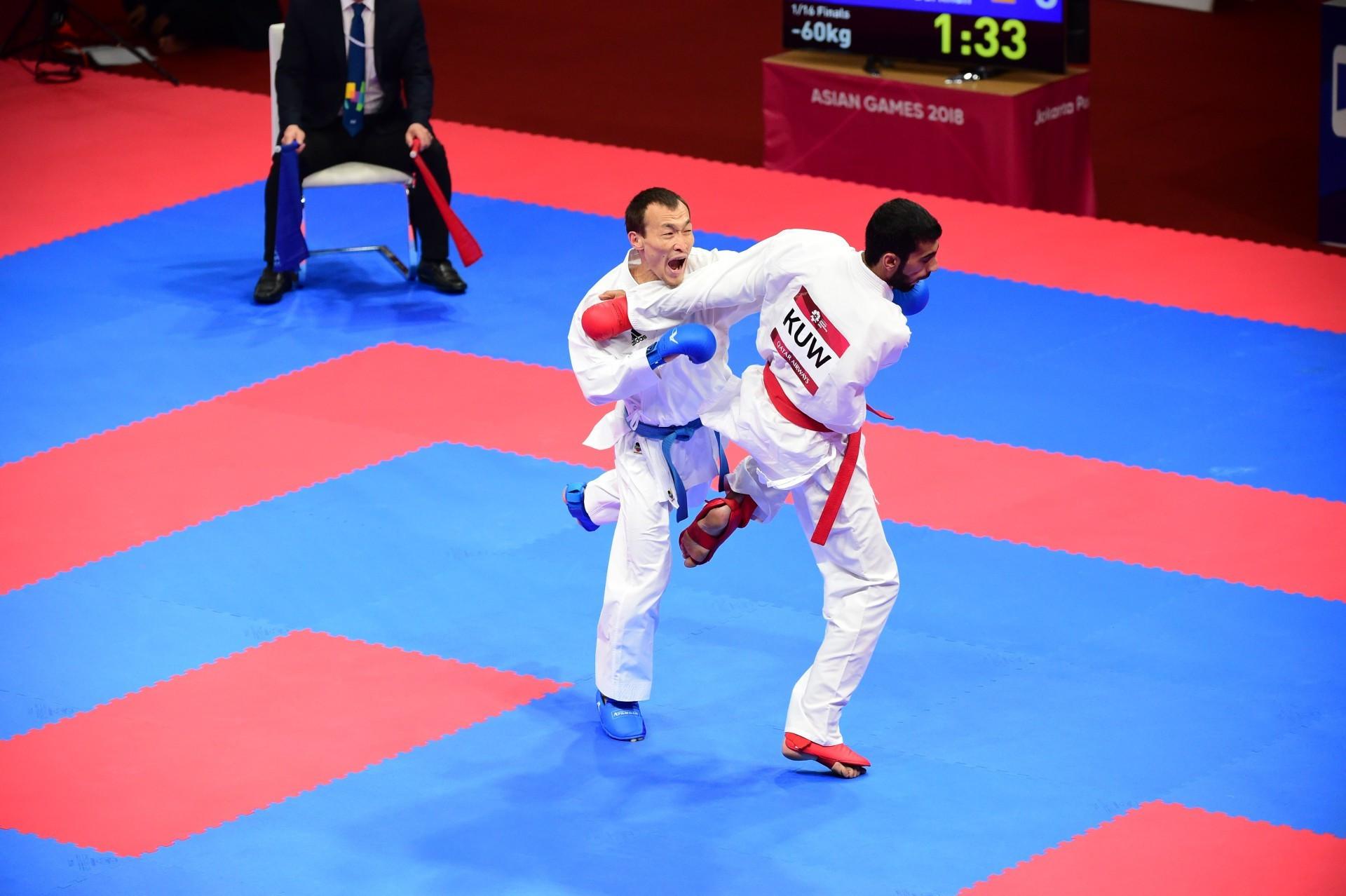 Дархан Асадилов вышел в финал Премьер-лиги по каратэ в Марокко