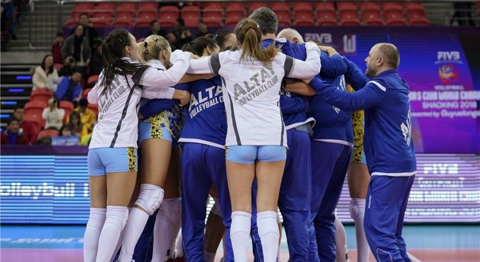 «Алтай» вошел в ТОП-5 участников клубного ЧМ по волейболу