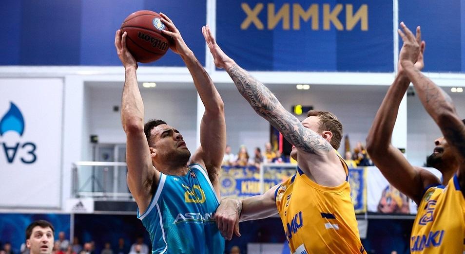 Единая Лига ВТБ: «Астана» не сотворила сенсации в Москве