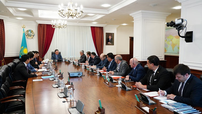 Аскар Мамин пригласил турецкий бизнес к созданию экспортно ориентированных предприятий