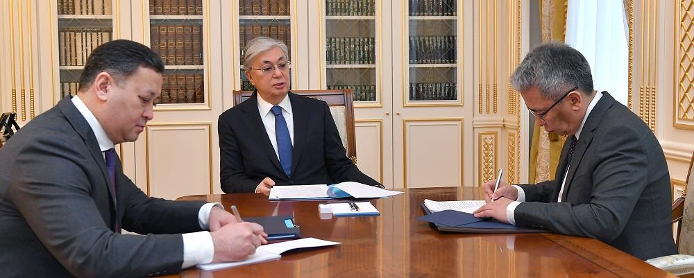 Касым-Жомарт Токаев: Геополитическая ситуация вокруг Афганистана  входит в новую стадию развития