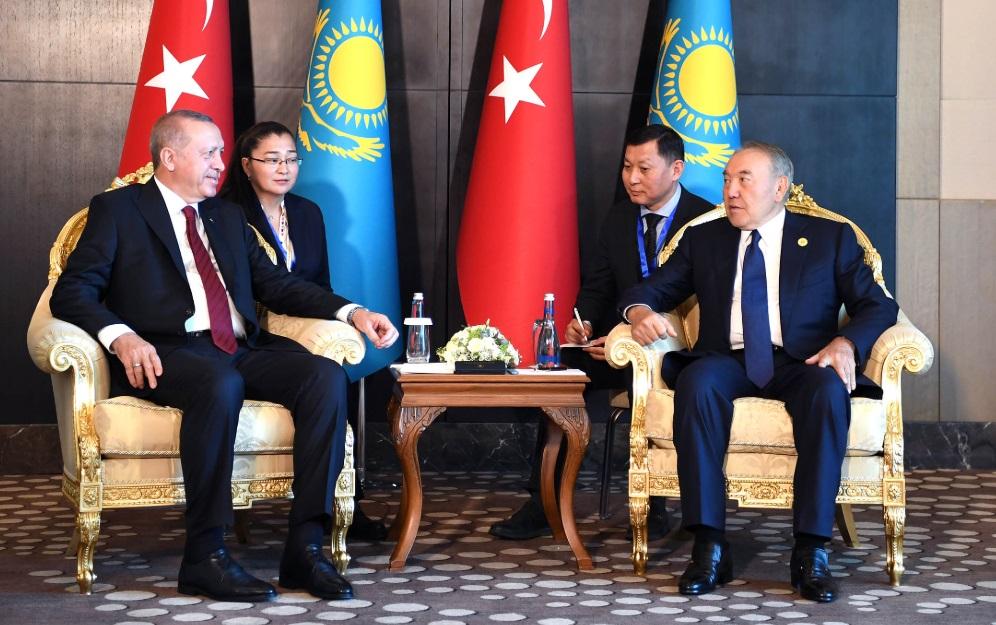 Назарбаев обсудил с Эрдоганом вопросы региональной безопасности и развития государств Евразии