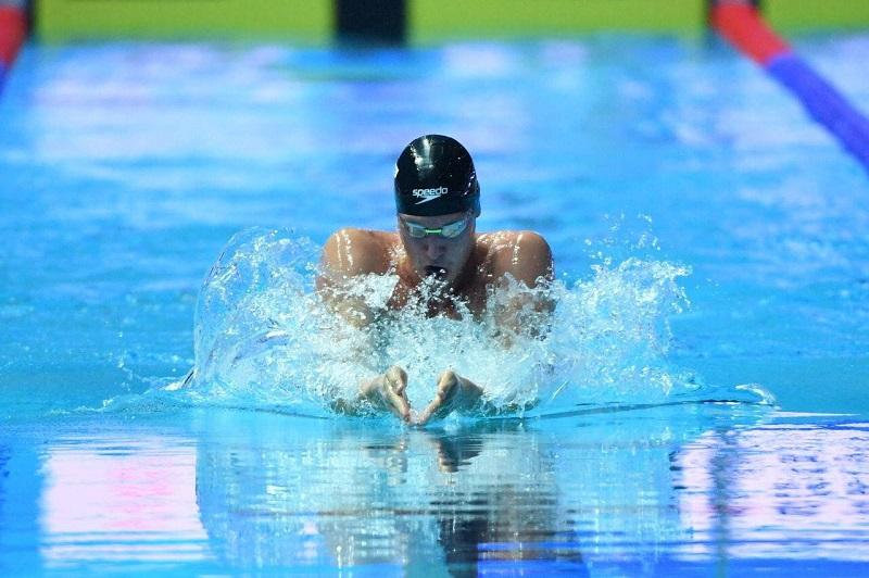 Дмитрий Баландин вышел в финал ЧМ по плаванию