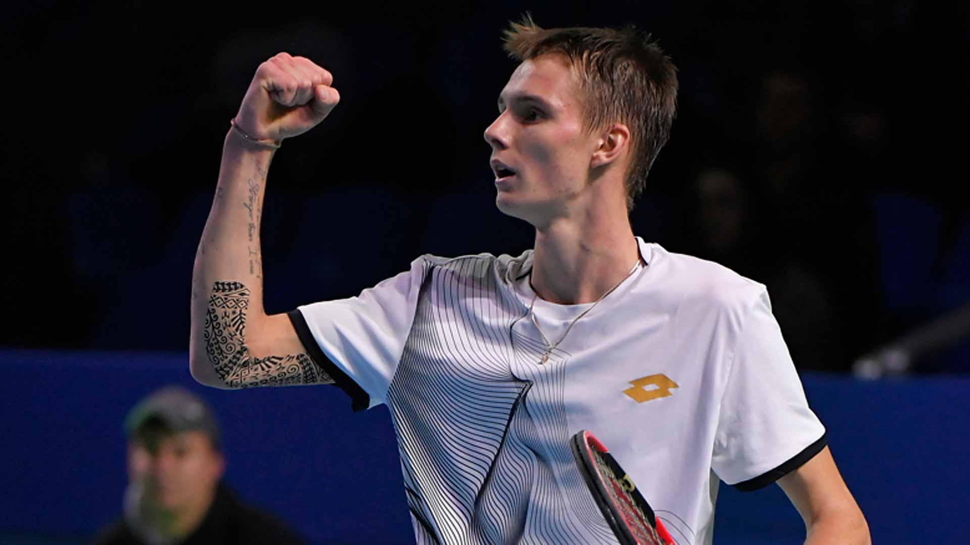 Александр Бублик вышел в финал турнира серии ATP Challenger