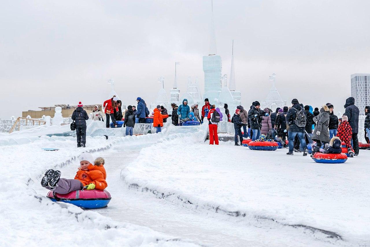 Ледовая горка высотой 16 метров появится в Астане