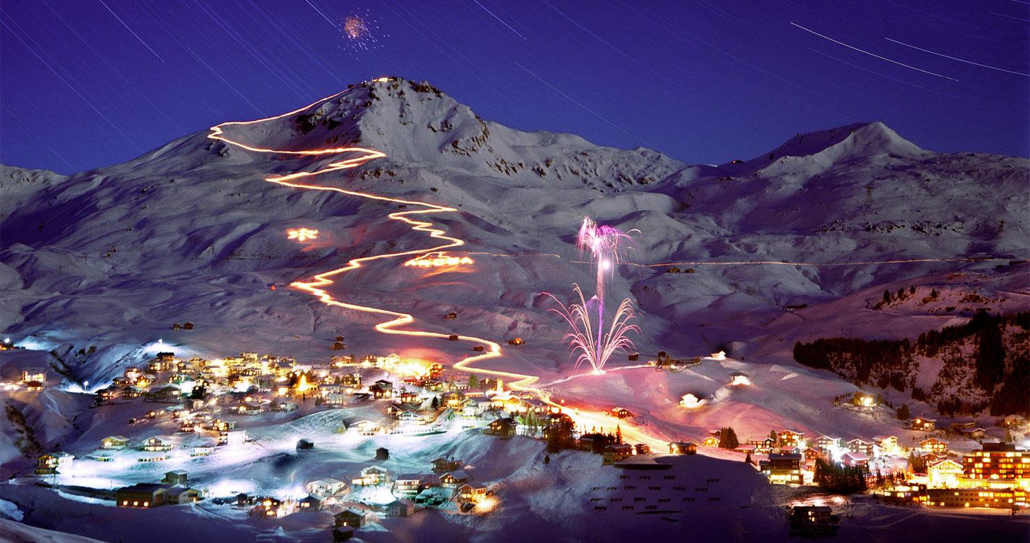 Лавина накрыла горнолыжный курорт в Швейцарии