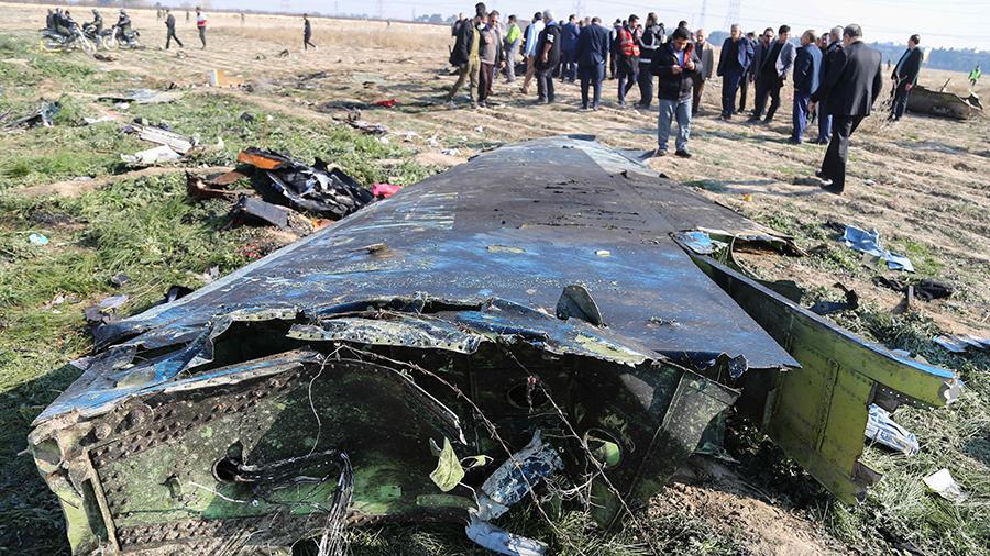 """Украина переквалифицировала дело о гибели """"Боинга"""" в Иране на статьи об умышленном убийстве"""