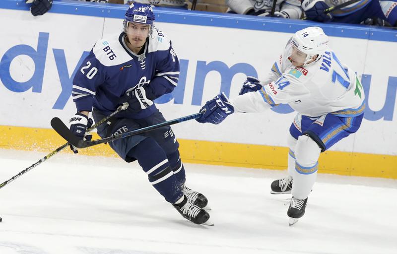 Роман Старченко провел 600 матчей в КХЛ в составе «Барыса»