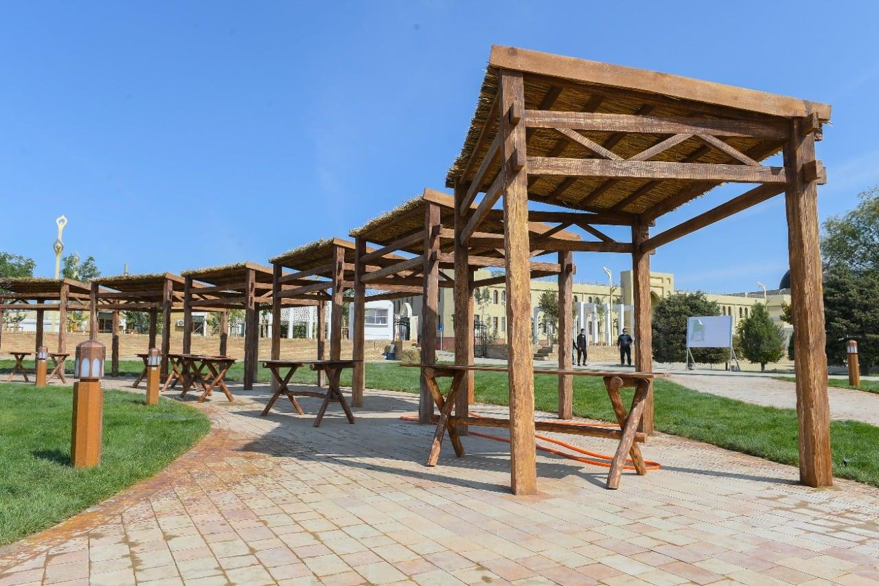 В Туркестане открылся уникальный этноаул