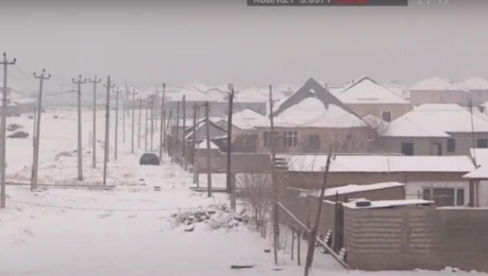 Без газа, без света, без воды: как живут жители «перспективного» района Шымкента?